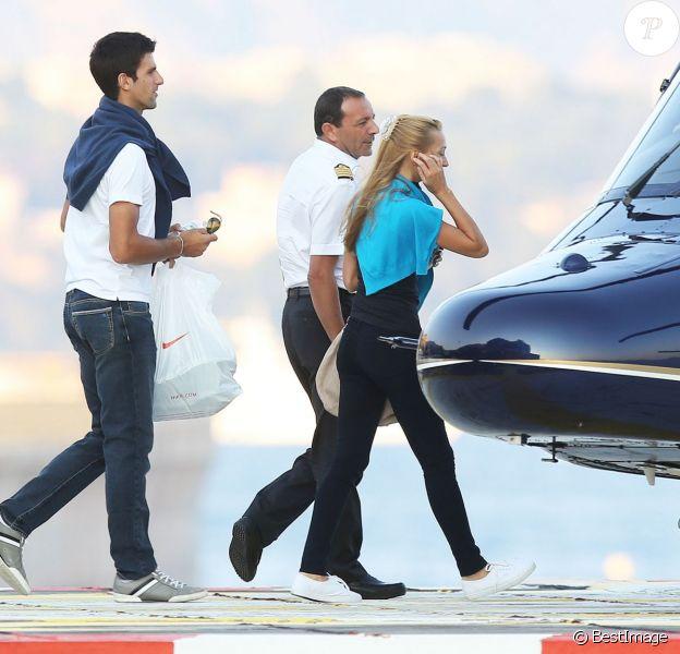 Le 23 septembre 2013, vers 19 heures, Novak Djokovic et sa compagne Jelena Ristic décollaient de Monaco pour la Provence. Le tennisman serbe allait faire sa demande en mariage au Couvent des Minimes, dans le Lubéron.