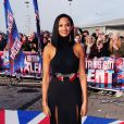"Alesha Dixon arrive aux auditions de l'émission ""Britain's Got Talent"" à Cardiff. Le 16 janvier 2013."