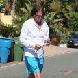 Bruce Jenner dans les rues de Malibu, le 12 juillet 2013.