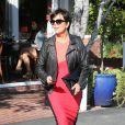 Bruce et Kris Jenner dans les rues de West Hollywood, le 21 mars 2013.