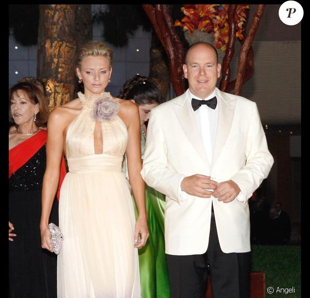 Charlene Wittstock et le prince Albert II