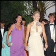 La princesse Caroline de Hanovre et Charlene Wittstock