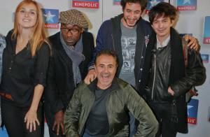 José Garcia : ''Fonzy'', papa heureux au côté de sa femme Isabelle Doval