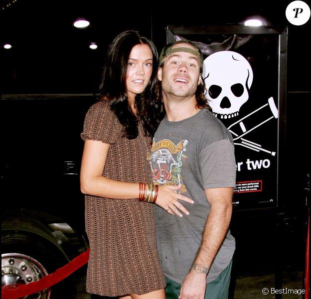 """Chris Pontius et sa femme Claire Nolan à la première de """"Jackass 2"""" à Hollywood, le 21 septembre 2006."""