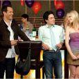 April Bowlby, Ben Feldman et Josh Stamberg dans la 3e saison de Drop Dead Diva.