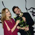"""Roxane Le Texier et Sébastien Agius lors du 20e gala annuel de charité """"Faire Face"""" organisé à l'Opéra d'Avignon, le 12 octobre 2013."""