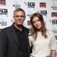 Adèle Exarchopoulos et Abdellatif Kechiche lors de la première de Blue Is The Warmest Colour (La Vie D'Adèle) au BFI Film Festival, Curzon Mayfair, Londres, le 14 février 2013.