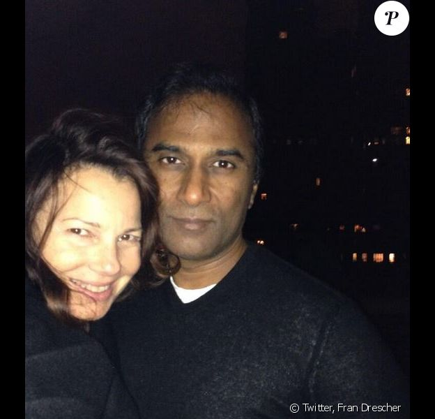 Fran Drescher et Shiva Ayyadurai sur Twitter, le 1er octobre 2013.