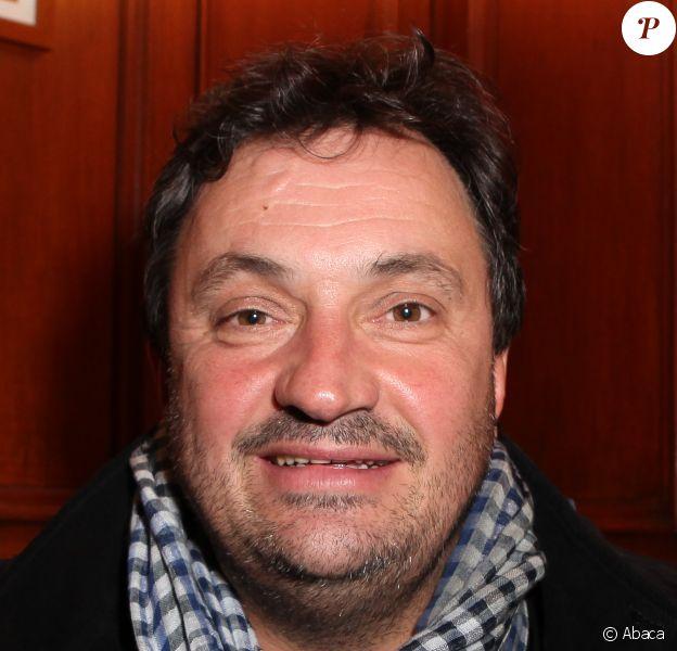 """Yves Camdeborde - Soirée pour la sortie du livre de Jean Cormier """"Gueules de chefs"""" à Paris le 15 octobre 2013."""