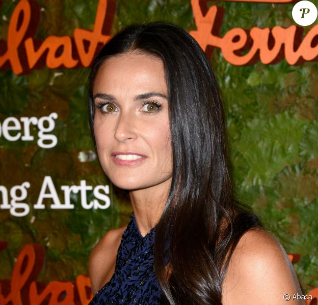 Demi Moore au gala d'ouverture du Wallis Annenberg Center for the Performing Arts à Beverly Hills, le 17 octobre 2013.