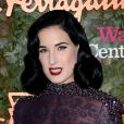 Dita Von Teese au gala d'ouverture du Wallis Annenberg Center for the Performing Arts de Beverly Hills, le 17 octobre 2013.