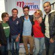 Bernard Montiel reçoit Amanndine Bourgeois, Leslie, Merwan Rim et Bastien Lanza dans son émission M comme Montiel, le 19 octobre 2013.