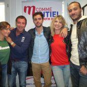 Amandine Bourgeois et Leslie: 'Goldman, c'est le patron de la variété française'