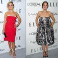"Marion Cotillard et Reese Witherspoon au gala ""ELLE Women in Hollywood"" à Los Angeles, le 21 octobre 2013"