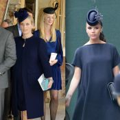 Zara Tindall, enceinte et très Victoria Beckham au baptême du prince George