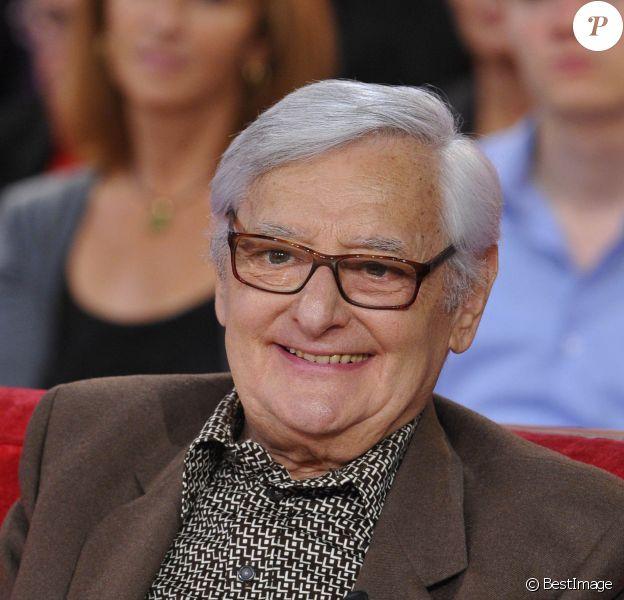 Roger Carel à 'Vivement dimanche' à Paris le 3 Octobre 2012.