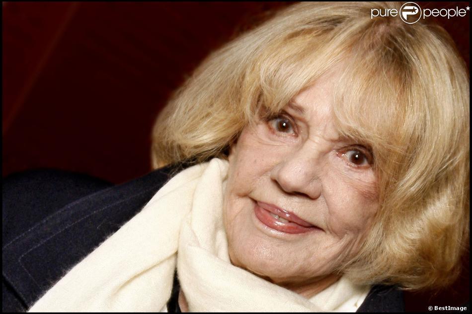 Jeanne Moreau en 2010 à Paris.