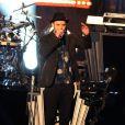 Justin Timberlake en concert pour l'émission Jimmy Kimmel Live! à Los Angeles. Le 24 septembre 2013.