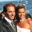 Mariage d'Ingrid Chauvin et Thierry Peythieu à Lège-Cap-Ferret le 27 août 2011.