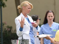 PHOTOS : Grey's Anatomy : Patrick Dempsey et Katherine Heigl, en flag !