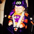 Klay Rooney, 6 mois, fils de Coleen et Wayne Rooney, a passé le 31 octobre 2013 son tout premier Halloween dans la peau d'une araignée.