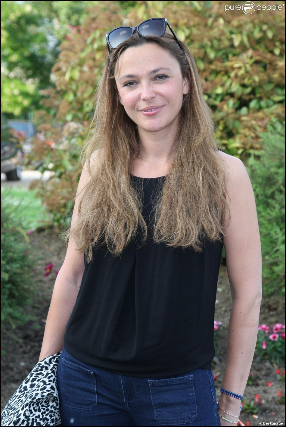 Sandrine Quetier à Port-Marly, le 10 juin 2013.