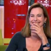 Carole Bouquet : Alessandra Sublet a failli l'étouffer !