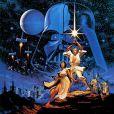 Affiche du film Star Wars IV : La Guerre des étoiles
