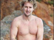PHOTOS EXCLUSIVES : Owen Wilson, break à la plage entre amis !