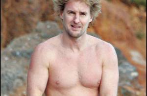 PHOTOS EXCLUSIVES : Owen Wilson, break à la plage entre amis !