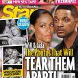 """Le tabloïd Star affiche Will Smith en couverture, affirmant détenir ses """"photos choquantes"""" avec l'acteur et sa partenaire Margot Robbie."""