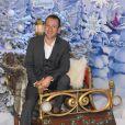 Dany Boon découvre le Noël Enchanté des parcs Disneyland Paris, à Marne-la-Vallée, le 9 novembre 2013.
