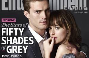 Fifty Shades of Grey : La 1re photo du couple Jamie Dornan et Dakota Johnson