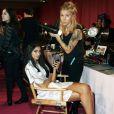 - Backstage du défilé Victoria's Secret à New York le 13 novembre 2013.