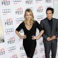 Christine Taylor et Ben Stiller à la première de La vie rêvée Walter Mitty à Los Angeles le 13 novembre 2013.