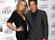 Ben Stiller : Sa femme Christine Taylor, ultradécolletée, devant Sean Penn