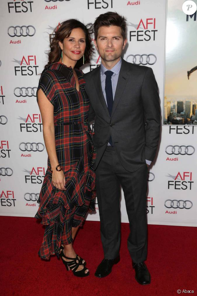 Adam scott et sa girlfriend la premi re de la vie r v e - Eglantine emeye et son mari walter ...
