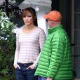 """Jennifer Lopez sur le tournage de """"The Boy Next Door"""" à Los Angeles, le 12 novembre 2013."""