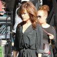 """Jennifer Lopez sur le tournage de son nouveau film """"The Boy Next Door"""" à Los Angeles, le 11 novembre 2013."""