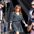 """Jennifer Lopez sur le tournage de """"The Boy Next Door"""", le 11 novembre 2013."""