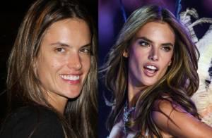 Alessandra Ambrosio : Sans maquillage, la bombe des podiums s'en sort bien !