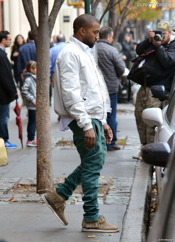 Kanye West   224  New York  le 17 novembre 2013 Kanye West Son Sweet 16