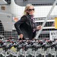 Exclusif - Nicole Appleton arrive à Londres en provenance d'Ibiza, le 30 septembre 2013.
