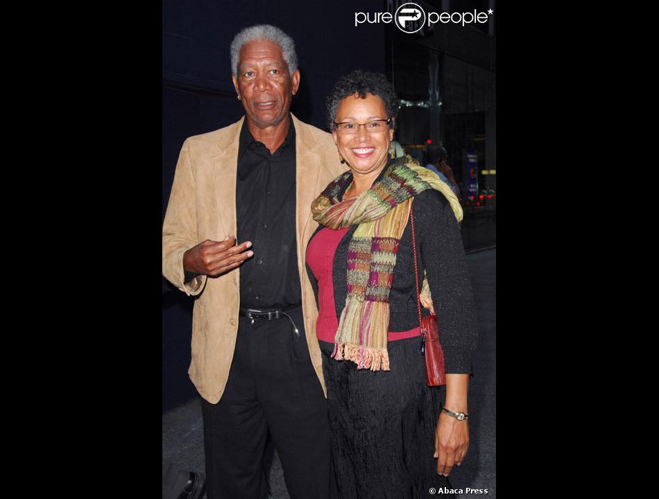 Morgan Freeman et sa f...
