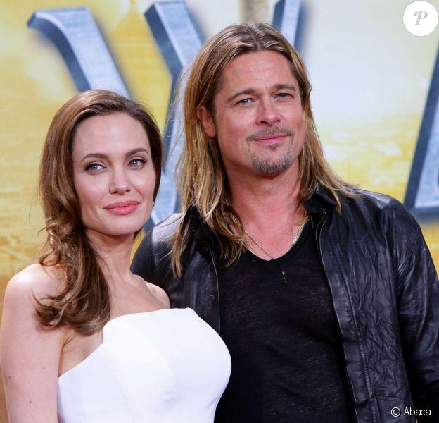 Angelina Jolie et Brad Pitt à Berlin, le 4 juin 2013.