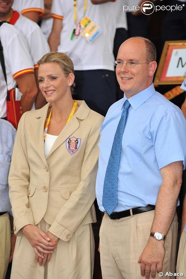 Le prince Albert II de Monaco et Charlene Wittstock sont arrivés à Pékin !