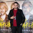Sadek à la première du film La Marche à Rosny, le 23 novembre 2013.
