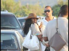 PHOTOS : Kelly Rowland à Saint-Tropez, elle a du chien !