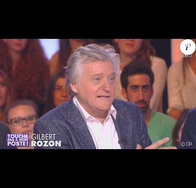 """Gilbert Rozon sur le plateau de """"Touche pas à mon poste"""", lundi 25 novembre 2013."""