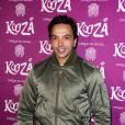 """Kamel Ouali à la représentation du nouveau spectacle du Cirque du Soleil, """"Kooza"""", sur l'ïle Seguin à Boulogne-Billancourt, le 26 novembre 2013."""